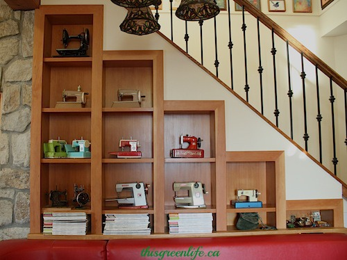 fir display shelves