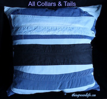 all collars and tails cushion