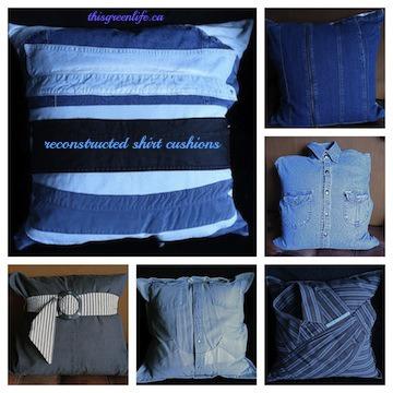 shirt cushion Collage