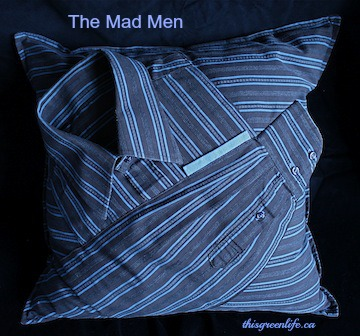 the mad men cushion