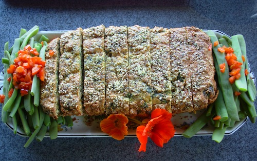 spinach nut loaf