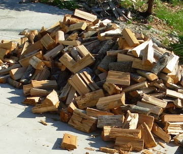 maple woodpile