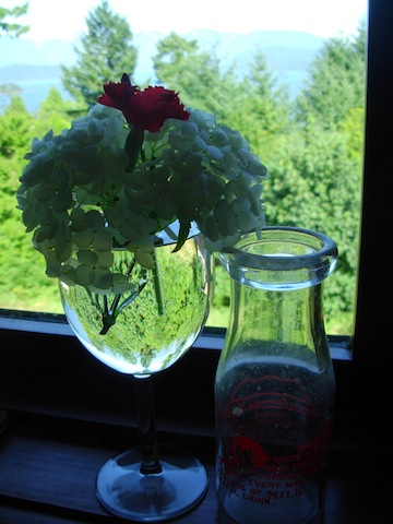 wine glass posie