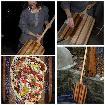 pizza peel Collage