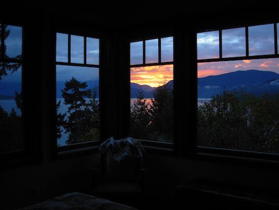 bedroom sunrise